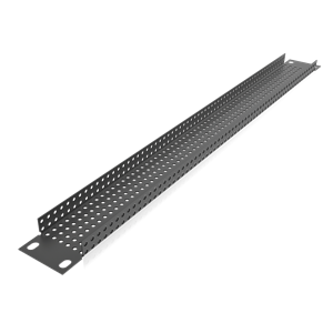 Picture of 19 inch 1 RU Recessed Vent Rack Panel