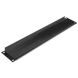 Picture of 19 inch 2 RU Recessed Vent Rack Panel