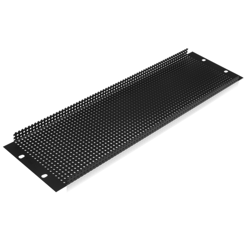 Picture of 19 inch 3 RU Recessed Vent Rack Panel