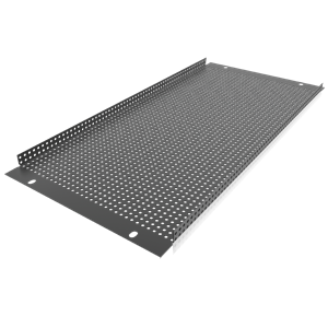 Picture of 19 inch 4 RU Recessed Vent Rack Panel