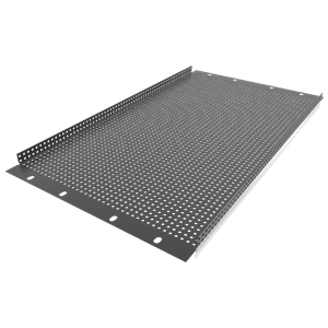 Picture of 19 inch 6 RU Recessed Vent Rack Panel