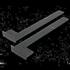 Picture of 2 RU Rear Rack Rail Support Bracket For SH Series Rack Shelves