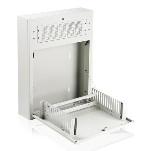 Picture of 3RU Tilt Out Half Rack Wall Cabinet