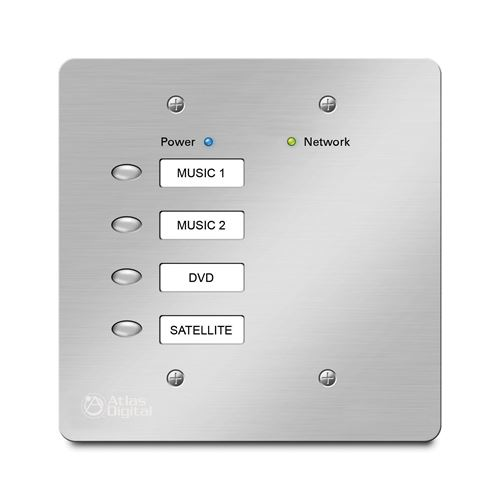 BBWP-SW4 DSP Wall Controller