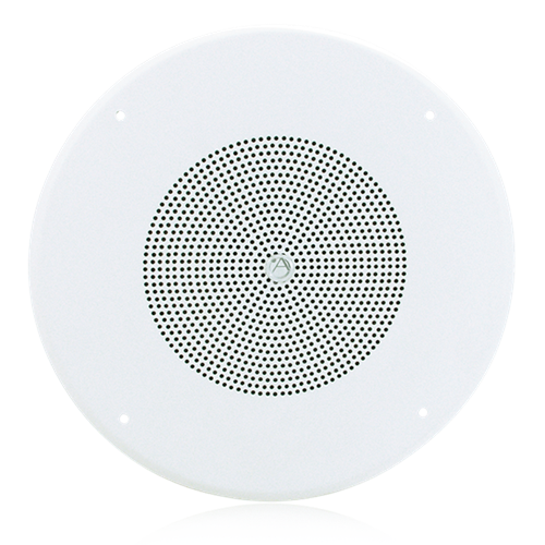 """Picture of 8"""" In-Ceiling Coaxial Speaker with 70.7V 8-Watt Transformer, Baffle, and Hyfidrophobic™ Treatment Coating"""