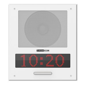 Picture of PoE+ Indoor Wall Mount IP Speaker with LED Display and LED Flashers