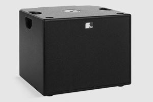 "Picture of Single 12"" Powered Subwoofer with 1500-Watt Integrated Amplifier"