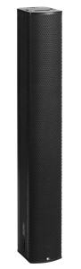 "Picture of Fohhn Line Source with 32 4"" Drivers with 16 Channel Amplification and Integrated DSP - Black"