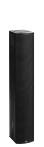"Picture of Fohhn Line Source with 16 1"" Drivers with 16 Channel Amplification and Integrated DSP - Black"