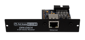 Picture of Dante™ Accessory Card for DPA Series Amplifiers