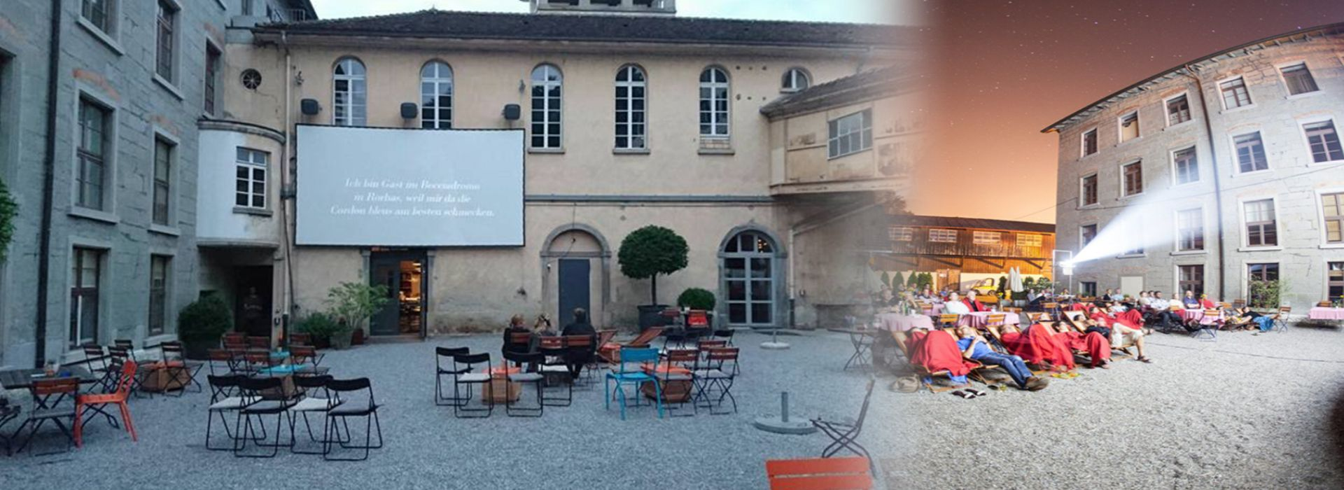 FS Multipurpose Horns Chosen for Outdoor Movie Theater in Switzerland