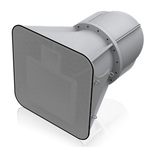 Picture of 3-Way Stadium Horn System 90° x 40° - Gray