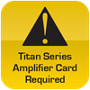 Caution Titan Card Required
