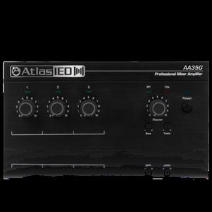 Picture of 3-Input, 35-Watt Mixer Amplifier with Global Power Supply