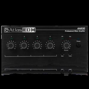 Picture of 4-Input, 60-Watt Mixer Amplifier with Global Power Supply