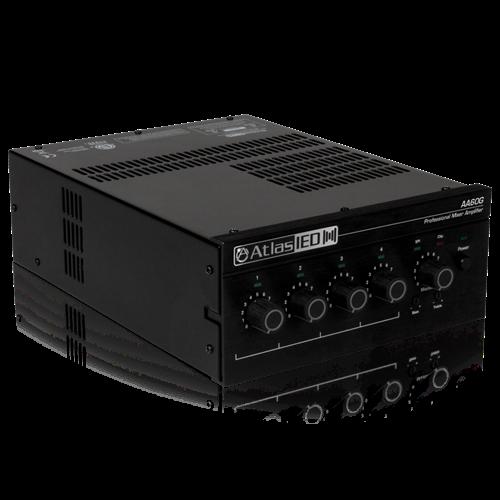 4 Input 60 Watt 70v 100v 8 Mixer Amplifier With Global