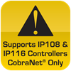 Supports 108 & 116 Controllers