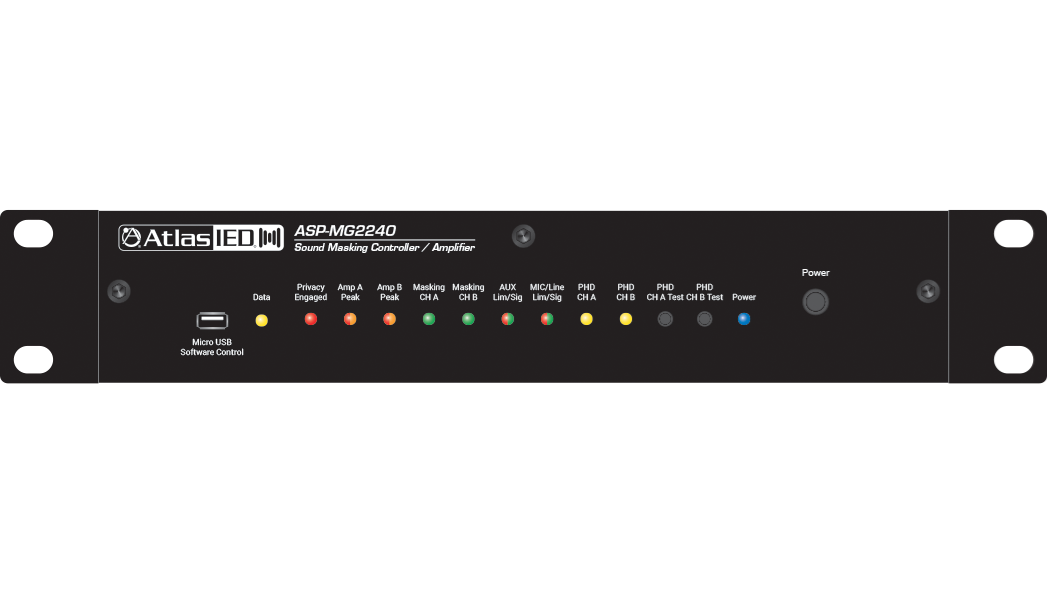Sound Masking Processor Speaker Control w Scheduler Crd | AtlasIED