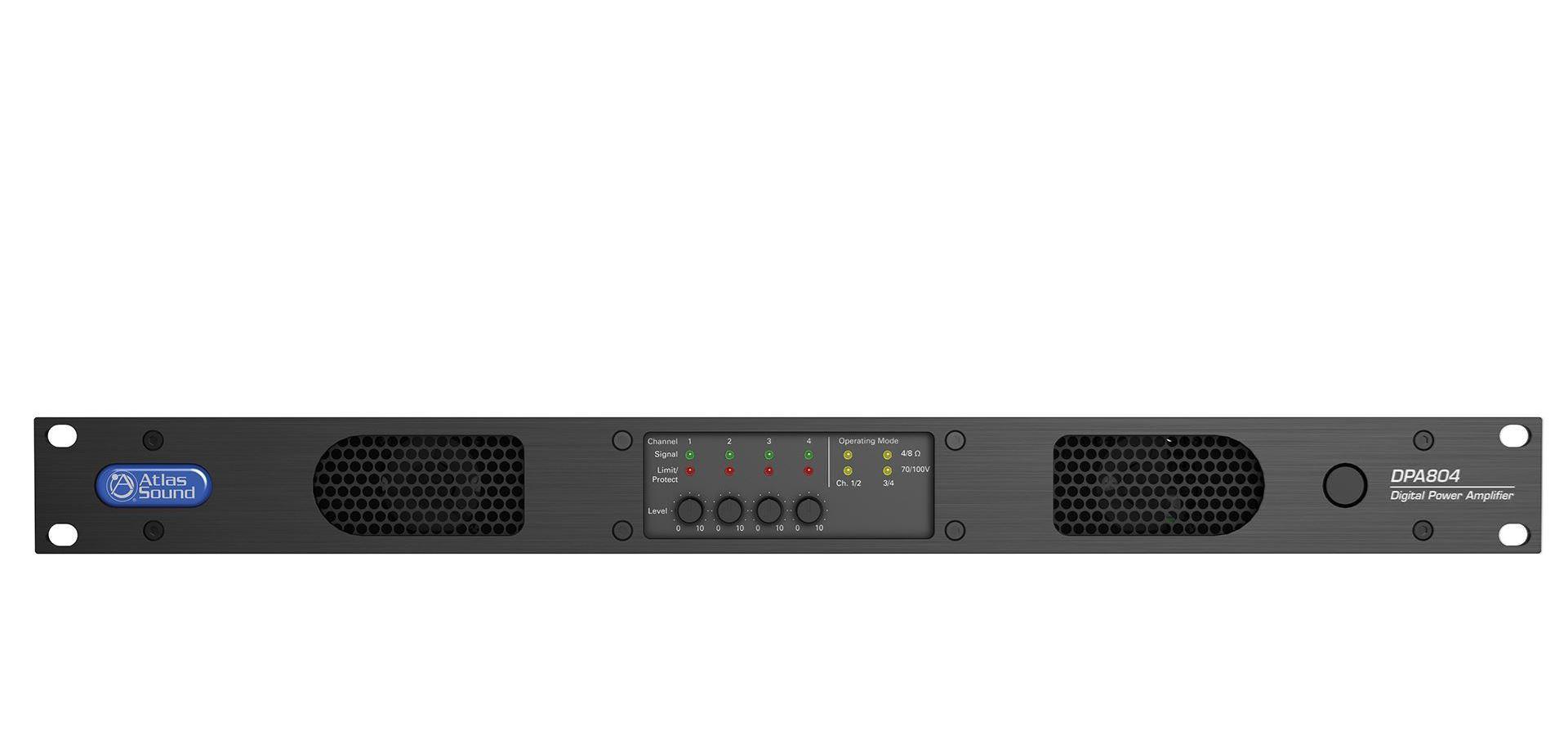 atl DPA804 ATLAS AMP DSP 4X200W@70.7/100V 1RU