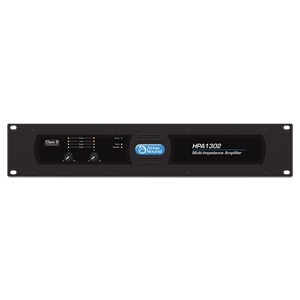 Picture of Dual-Channel, 1300-Watt Commercial Amplifier