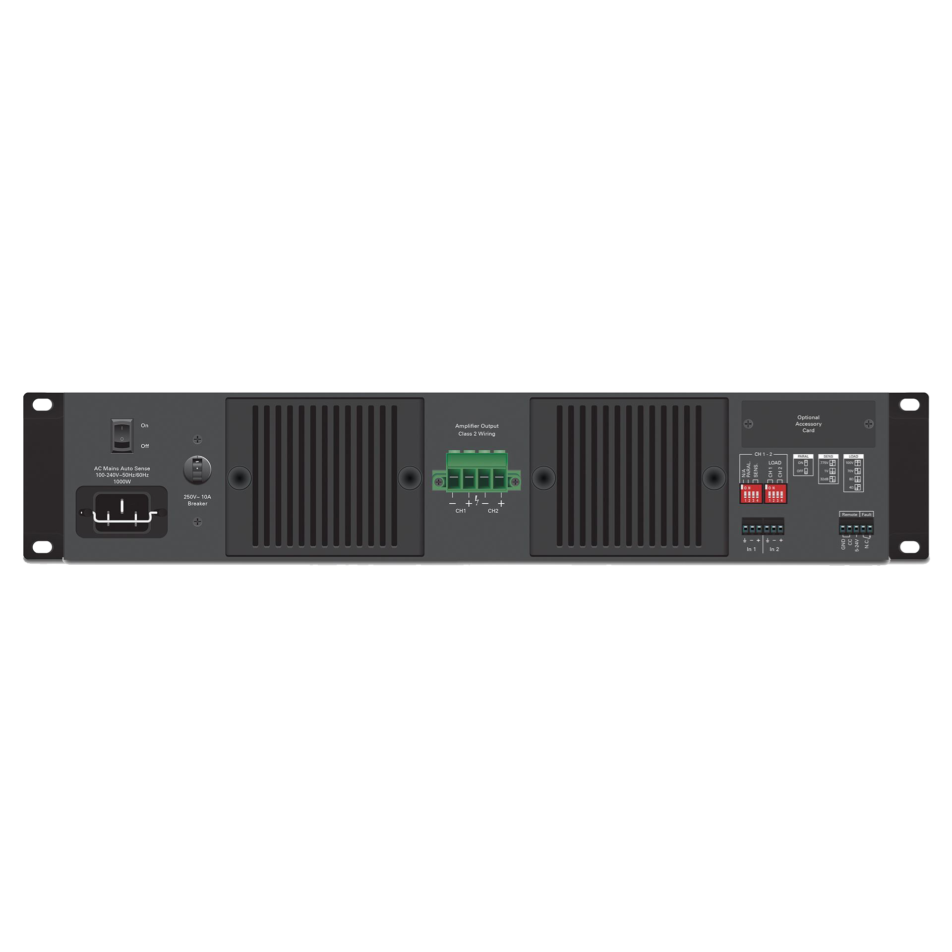 1300w hpa series dual channel commercial amplifier atlasied dual channel 1300 watt commercial amplifier sciox Choice Image