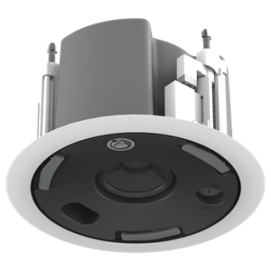 "Picture of 3"" Full Range In-Ceiling Speaker with 16-Watt 70V/100V Transformer, Ported Enclosure, and Safety First Mounting System"
