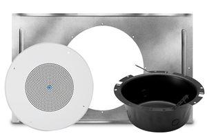 Picture of SD72 Speaker, 62-8 Baffle, CS95-8 Back Box, and 81-8R T-Bar Bridge Kit