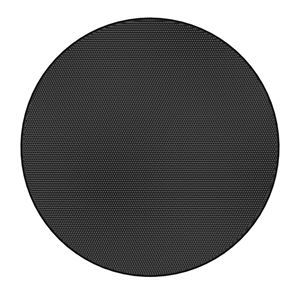 Picture of Edgeless Black Round Grille for Use with FAP43T-W