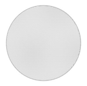 Picture of Edgeless White Round Grille for Use with FAP43T-W