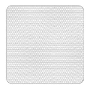 Picture of Edgeless White Square Grille for Use with FAP43T-W
