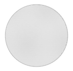 Picture of Edgeless White Round Grille for Use with FAP33T-W
