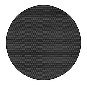 Picture of Edgeless Black Round Grille for Use with FAP33T-W