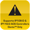 Supports 116D Controller
