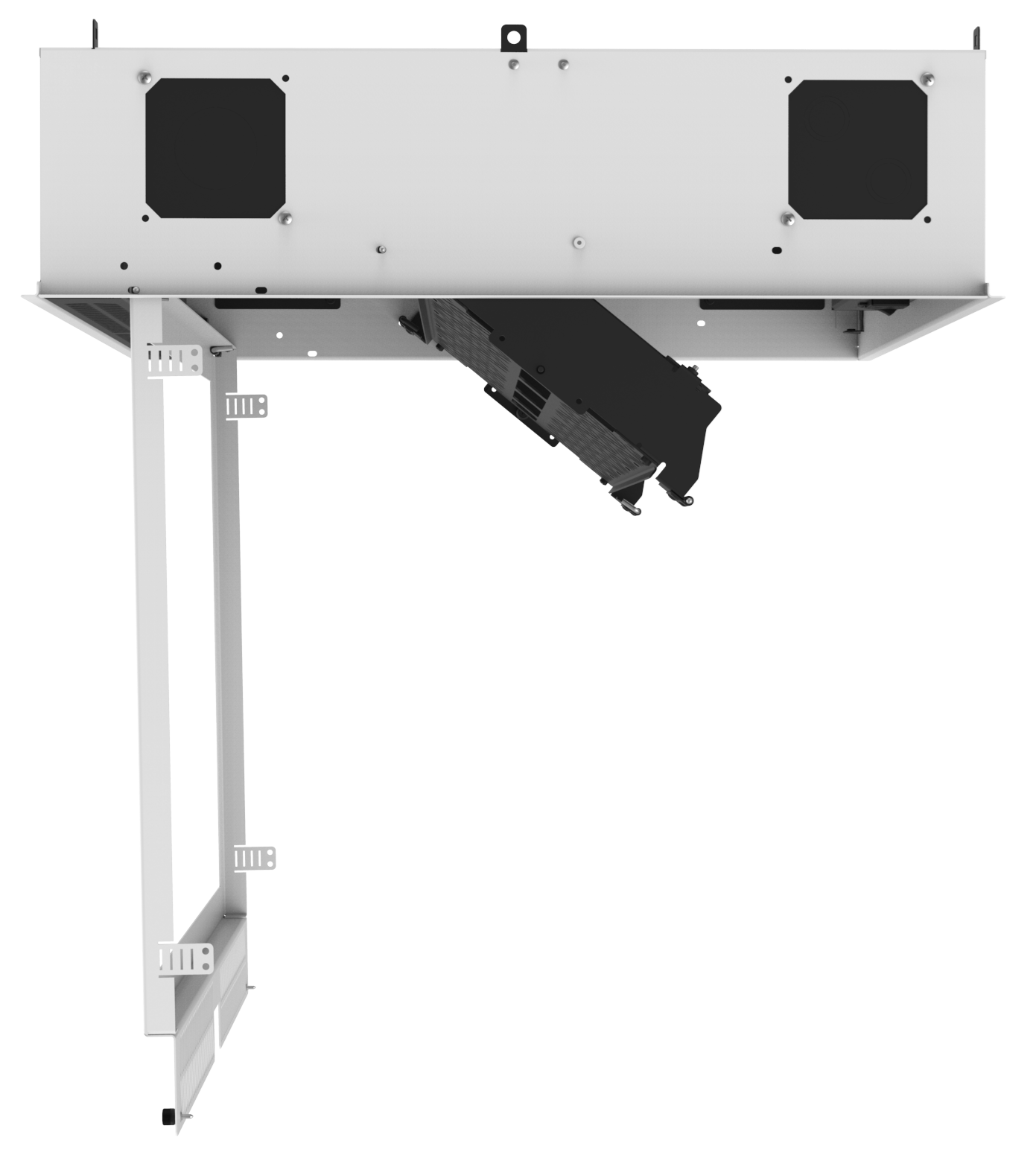 Atlasied Cr222 Concealed Ceiling Rack For 19 Quot Equipment