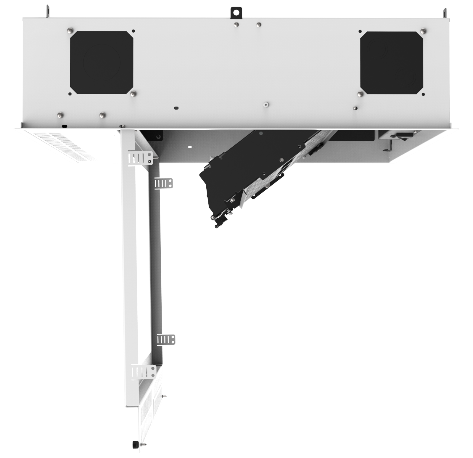 Atlasied Cr222p Concealed Ceiling Rack For 19 Quot Equipment