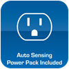 Power Pack Included with AutoSense