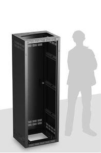 Picture of Welded Rack 18.5 inch Deep, 35RU **Shown with OPTIONAL Front Door**