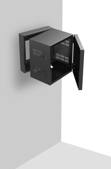 Stand Alone Wall Rack With Adjustable Rails 15 Quot Deep 12ru