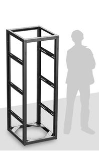 Picture of Stand Alone or Gangable Rack 25 inch Deep, 35RU