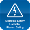Electrical Safety Listed for Plenum