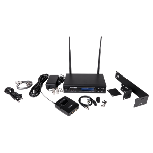 Picture of Wireless Microphone Kit with Lavalier Microphone