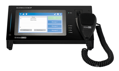 IPCSDTOUCH-H Communication Station with Handheld Mic