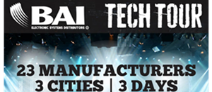 AtlasIED to Exhibit at BAI Tech Tour 2018