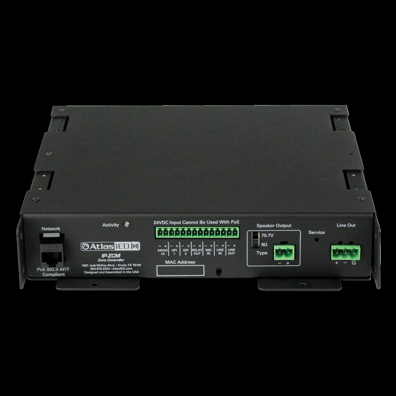 PoE+ IP Addressable Digital-to-Analog Gateway w Line Level Out