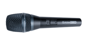Side view of M300-HH handheld microphone