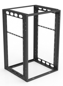 "Picture of 16RU Furniture Rack 18"" Depth"