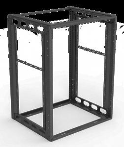 """Picture of 14RU Furniture Rack 16"""" Depth"""