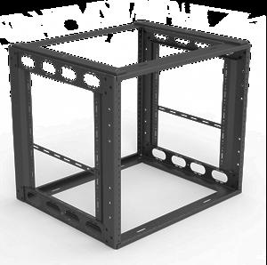 """Picture of 9RU Furniture Rack 16"""" Depth"""