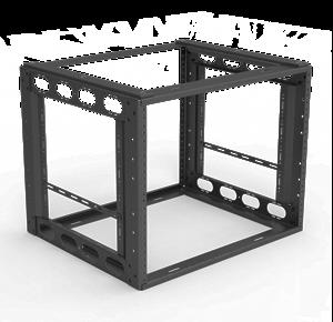 """Picture of 8RU Furniture Rack 16"""" Depth"""