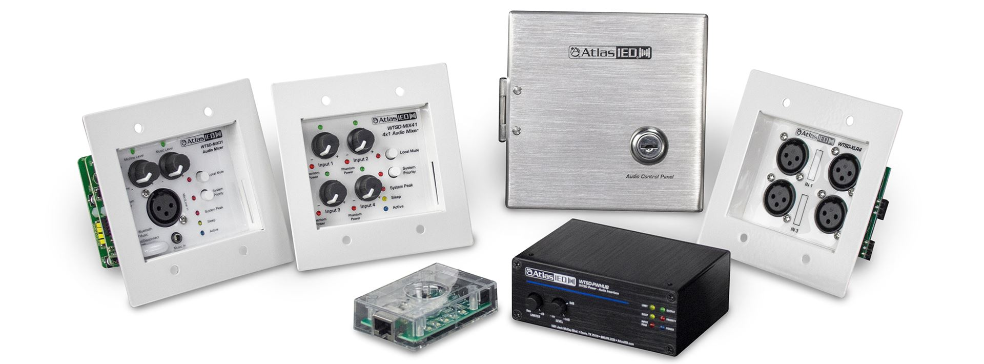 Several New Commercial Audio Processing Products Added to TSD Lineup